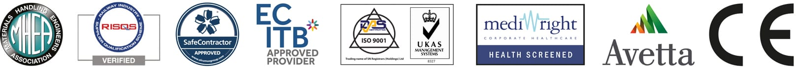 Wright Engineering Accreditations